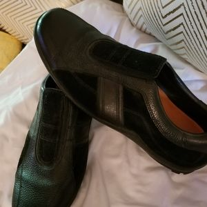 Cole Haan Vibram Black Loafers Slippers Sz…
